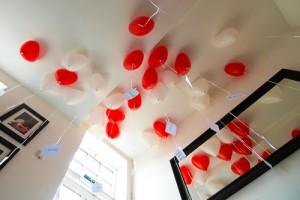 ballons auf hochzeit in weißwasser