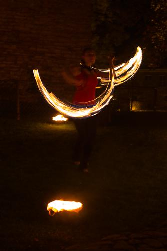 Feuershow in Frankenberg