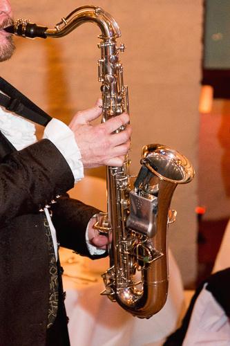 saxophonspieler in belgern-schildau